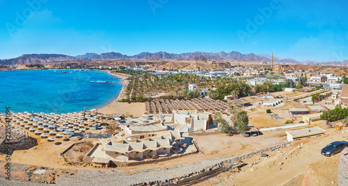 Panorama of Sharm El Maya district, Sharm El Sheikh, Sinai, Egypt