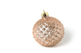 Christmas ball on a white background - 225582652
