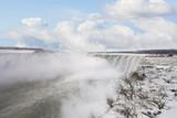 Niagara waterfall winter