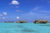 インド洋に浮かぶリゾートのコテッジ - 225631892