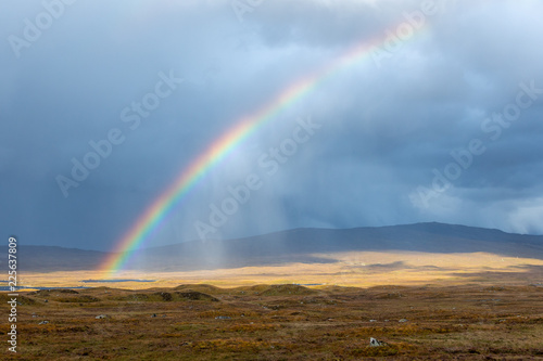 Leinwandbild Motiv Rainbow, Scotland