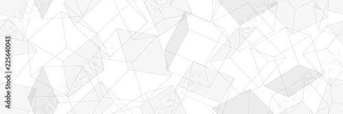 3D geometric background. Seamless pattern. Vector.3D幾何学パターン - 225640043