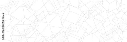 3D geometric background. Seamless pattern. Vector.3D幾何学パターン - 225640076