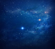 Leinwanddruck Bild - Deep space background