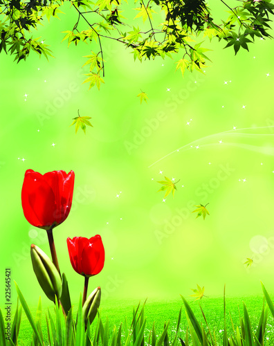 Flower, abstract figure, marriage, romance