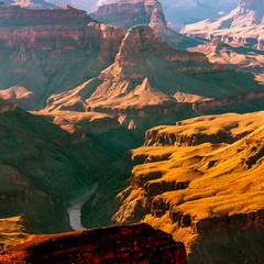 Abenddämmerung im Grand Canyon USA
