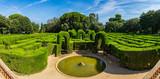 Garden-Park-Maze of the Labyrinth Park of Horta, Barcelona, - 225655828