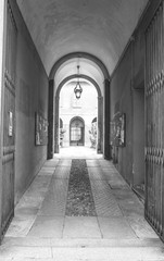 Pavia street Italy