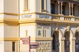 Historic stone post office in Beechworth in Victoria, Australia - 225667294