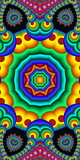 Colorful abstract mandala background. You can use it for invitations, notebook covers, phone case, postcards, cards, ceramics, carpets and so on. Artwork for creative design, art and entertainment. - 225679894