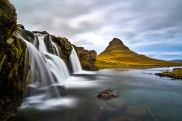 Waterfall at Kirkjufell © raffaele