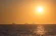 Quadro Sunset on the beach of Ipanema