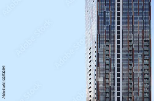 Foto Murales glass window architecture build background