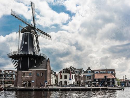 Windmill in Haarlem - 225746610