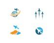 Air Plane logo vector
