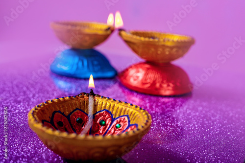 Leinwanddruck Bild Indian Festival Dussehra