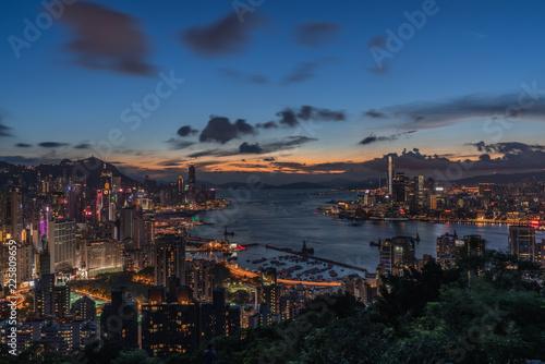 A little man and a big city, Braemar hill, Hong Kong
