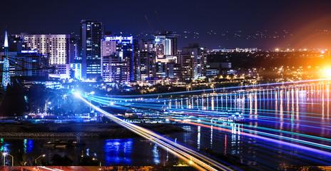 Big city never sleeps