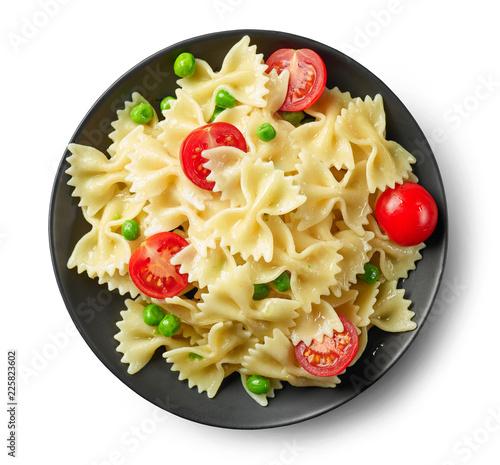 Leinwandbild Motiv plate of pasta