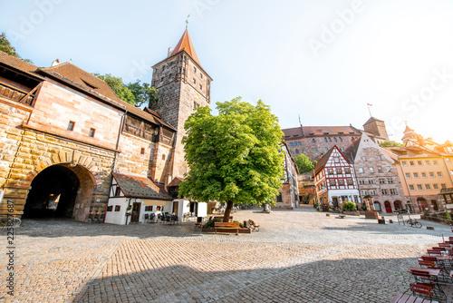 Foto Murales Old town of Nurnberg city, Germany