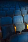 empty auditorium with seats - 225836898