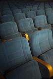 empty auditorium with seats - 225837090