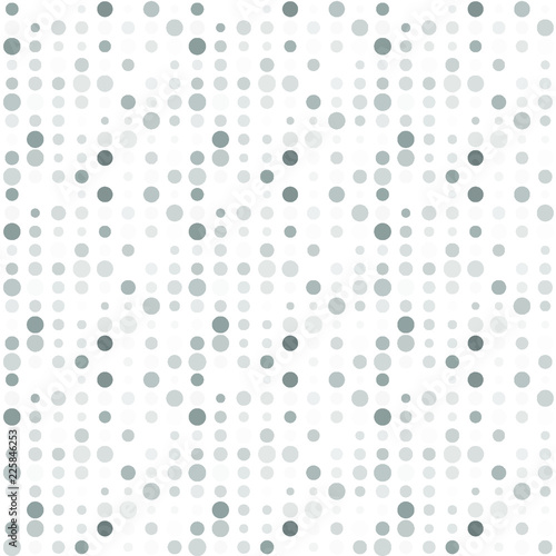Fototapeta Seamless abstract pattern background with a variety of colored circles.