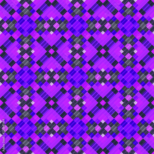 Sticker Seamless pattern background from a variety of multicolored squares.