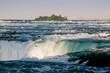 Niagara River above the falls