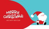 Vector Christmas Greeting card - 225884681