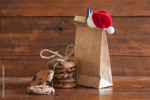 Christmas holiday season. Cookies for Santa Claus