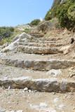 Treppe am Prevelistrand auf Kreta