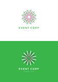 Event corporation logo template.