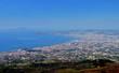 Quadro Blick vom Vesuv auf Neapel