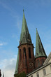 canvas print picture - historische Altstadt von Oldenburg in Niedersachsen