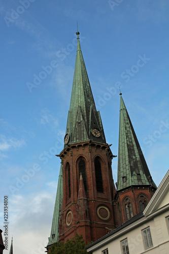 canvas print picture historische Altstadt von Oldenburg in Niedersachsen
