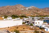 Beautiful landscape of Livadi village. The island of Serifos. Cyclades, Greece - 225936666