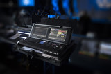 sound equipment at the concert - 225938460