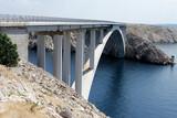 Bridge to the Isle of Pag croatia - 225938874