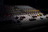 sound equipment at the concert - 225942252