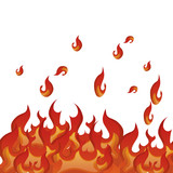 fire flame pattern background