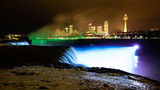 Niagara bight with light
