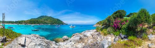 Leinwanddruck Bild Racha (Raya) island, Thailand