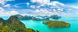 Leinwanddruck Bild - Mu Ko Ang Thong National Park, Thailand