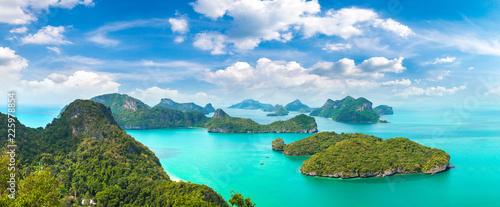 Leinwanddruck Bild Mu Ko Ang Thong National Park, Thailand