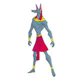 Anubis, guardian of the world of the dead - 225990290