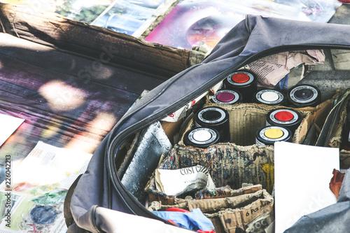 Graffiti uliczna sztuka - 226042213