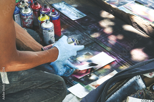 Graffiti uliczna sztuka - 226042236