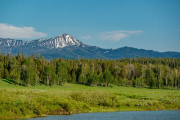 Mountains in Grand Teton National Park