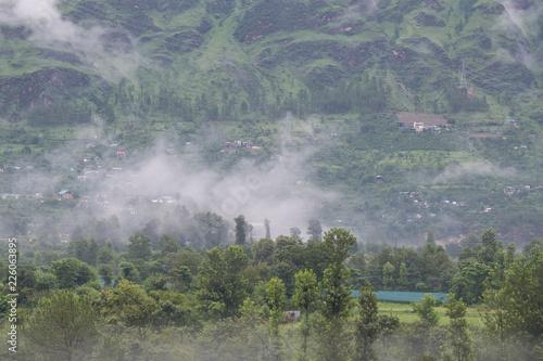 Foto Murales インド マナリ 峡谷